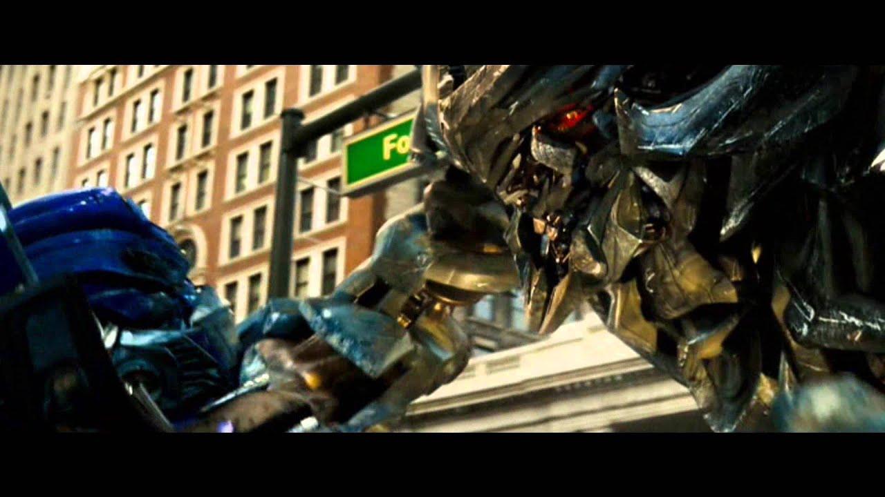 transformers 2007 clip 912 optimus vs megatron