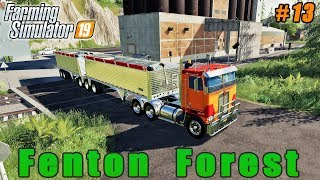 Planting corn, selling soybeans and wheat | Farming on Fenton Forest | FS 19 | Timelapse #13