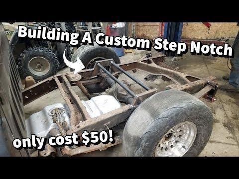 Building My Own Step Notch For $50! Jack Black Is Gonna Be LOW AF!!