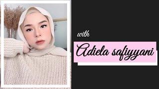 Sweet Peachy Makeup Look Tutorial | by Adiela Safiyyani