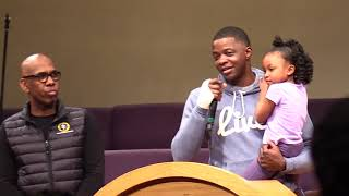 Waffle House shooting: James Shaw Jr. holds his daughter
