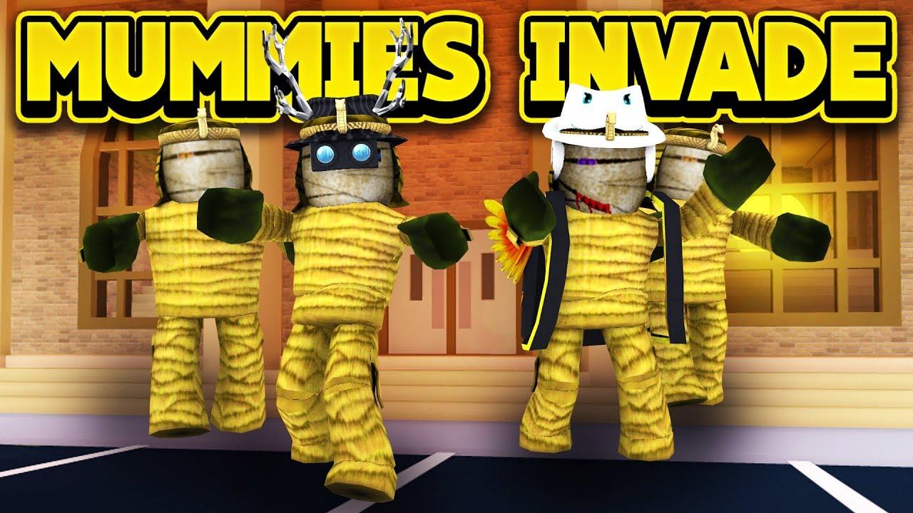 MUMMIES INVADE JAILBREAK! (ROBLOX Jailbreak)