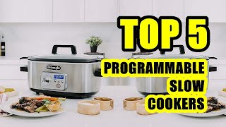 TOP 5: Best Programmable Slow Cooker 2020 | Stainless Steel Slow Cookers
