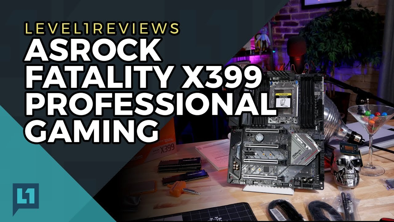 ASRock Fatal1ty X399 Professional Gaming Review + Linux Test