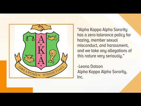 Fort Valley Alpha Kappa Alpha Chapter Suspended Amid Sex