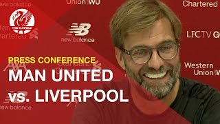 Man United vs. Liverpool | Jurgen Klopp Press Conference