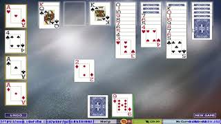 Hoyle Card Games 2005 - Solitaire - Klondike