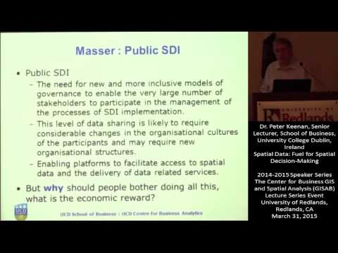 Spatial Data: Fuel for Spatial Decision-Making