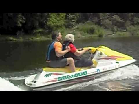 Williamsport Retirement Village 94-year-old Resident Drives Jet Ski