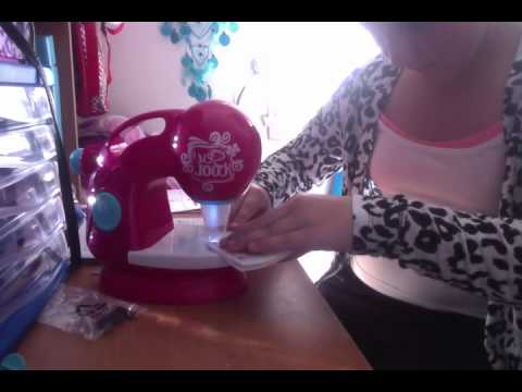 sew cool sewing machine tutorial - YouTube