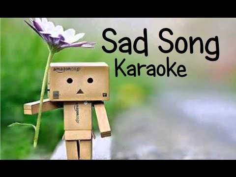 Sad Song - Karaoke - by We the Kings ft. Elena Coats