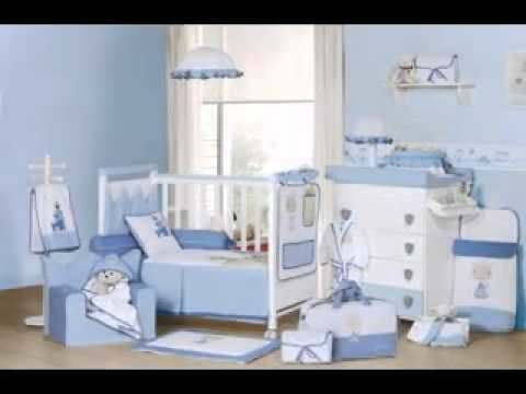 Baby boy room decorating ideas - YouTube