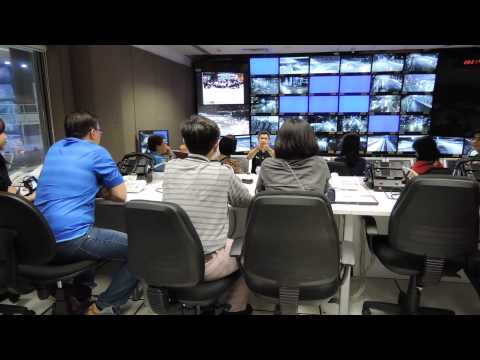 Tour to race control room in Singapore