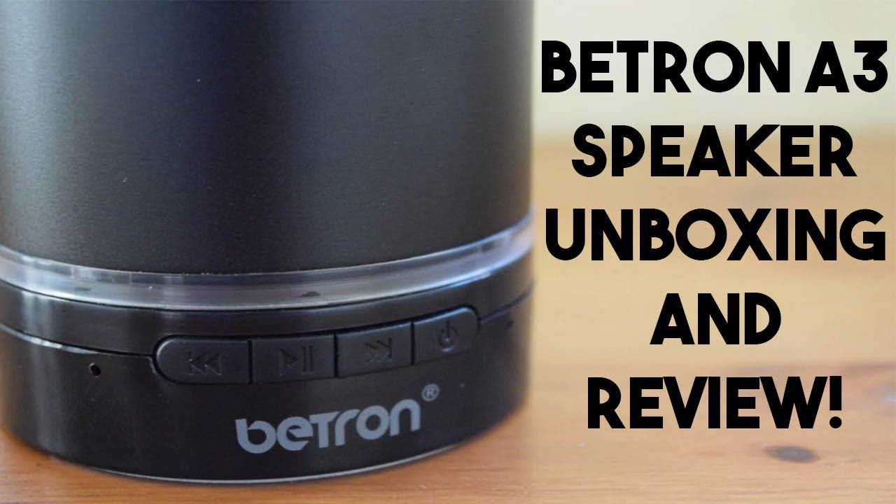 fb74abd0746d4b Betron A3 Wireless Speaker, Unboxing and Review! - YouTube