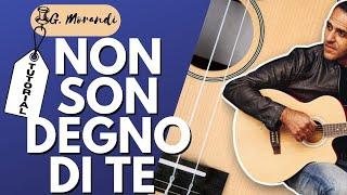 Non Son Degno Di Te - Gianni Morandi - Chitarra - Facile