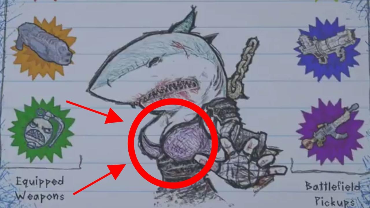 NINJA SHARK BOOBS - Drawn to Death - [#1]
