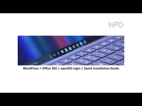 Installation Guide for Wordpress + Office 365 login - WordPress +