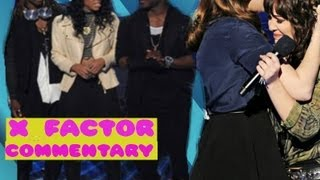 LYRIC 145 AND JENNEL GARCIA ELIMINATED X FACTOR USA RESULTS TOP 12 11/15/12
