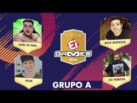 SIDÃO DO GAME X MUCA MURIÇOCA e ARUAN FELIX X EDU PRIMITIVO - COPA EI GAMES DE FIFA 18