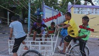 จักรยานสามล้อ จักรยานพ่วงสามล้อ ครั้งแรก l น้องใยไหม kids snook