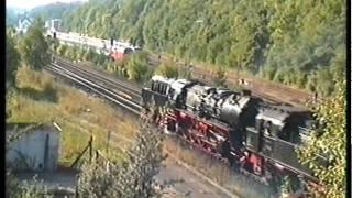 Steam parade, 12/09/1999, Gerolstein, Germany (part) (video 8)