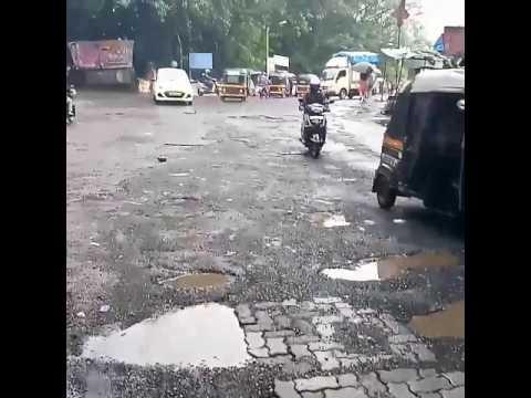 Potholes in Mumbai (Radio FM god bol)