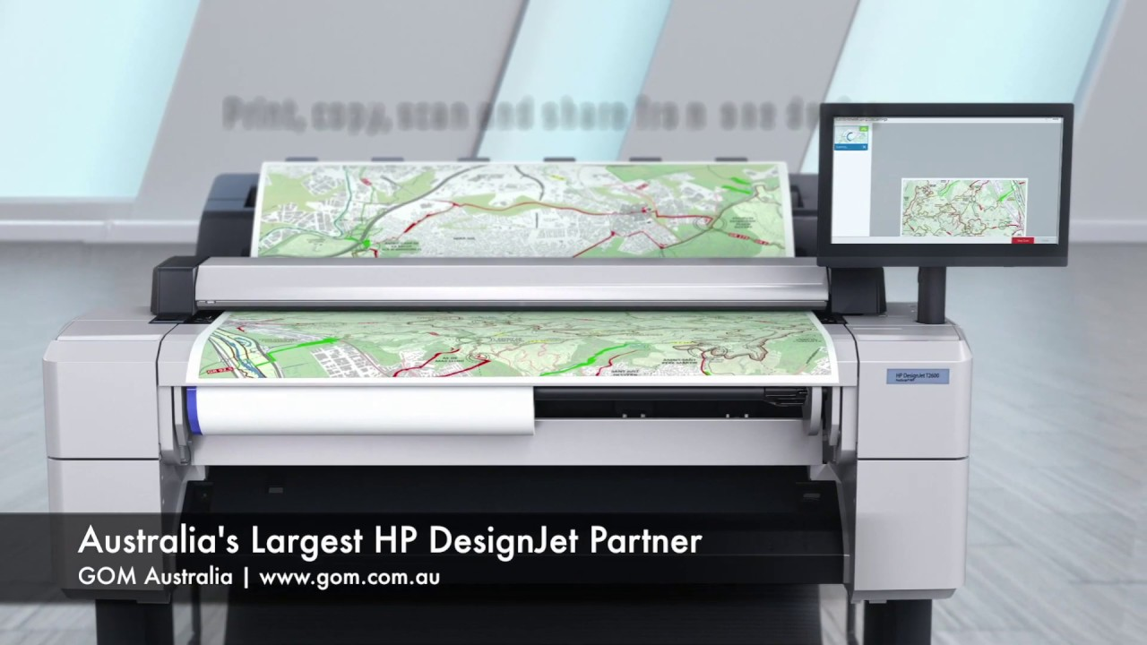 HP DesignJet T1600 36 Inch Printer & T2600 36 Inch Multifunction ...