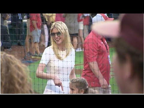 IVANKA TRUMP WALKED INTO THE CONGRESSIONAL BASEBALL GAME AND EVERYONE GASPED AT WHAT SHE BROUGHT!