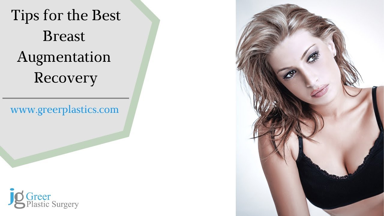 Tips For The Best Breast Augmentation Recovery Youtube