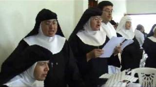 Profesión religiosa de una monja de clausura. Parte 4.