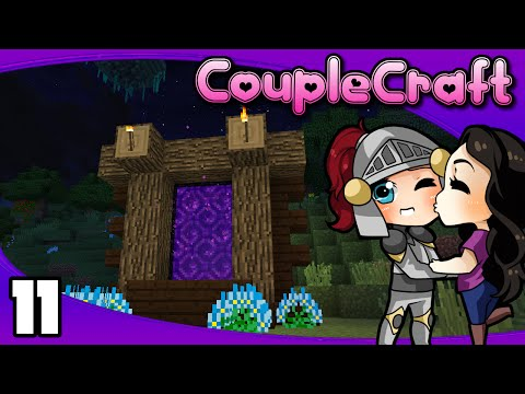 CoupleCraft - Ep. 11: Into the Nether!