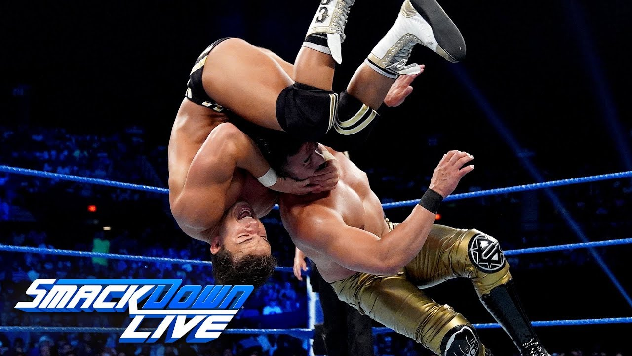 Chad Gable vs. Andrade – King of the Ring Quarterfinal Match: SmackDown LIVE, Sept. 3, 2019