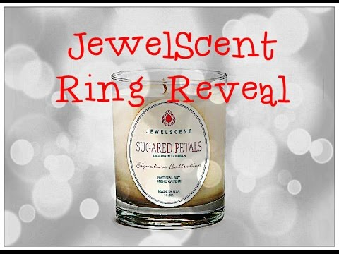 JewelScent Ring Reveal - Sugared Petals Candle + Promo Codes!!