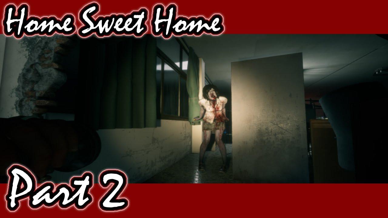 本人がびびりすぎて全く怖くないホラゲ実況【HomeSweetHome #2】