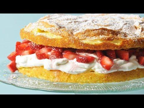 Meringue Cake Recipe Demonstration - Joyofbaking.com