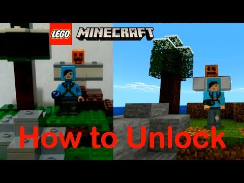 How To Unlock The LEGO Dragon Slayer Skin In Minecraft
