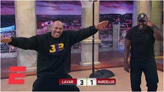 Lavar ball goes one-on-one against marcellus wiley | sportsnation | espn