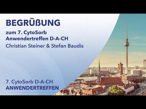 Begrüßung zum 7. CytoSorb Anwendertreffen D-A-CH | Christian Steiner & Stefan Baudis