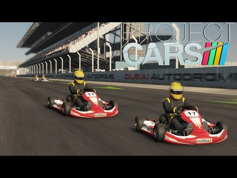 Project Cars - GO KART RACING