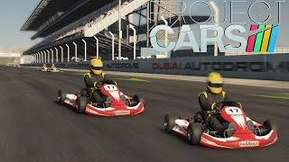 Project Cars - GO KART RACING