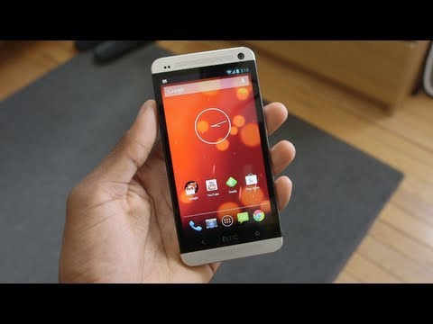 Google Edition HTC One Review!