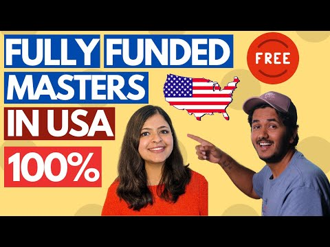 How To Get Full (100%) Masters in USA for Free! 100% Scholarship | Ft. Akriti |FREE Education in USA