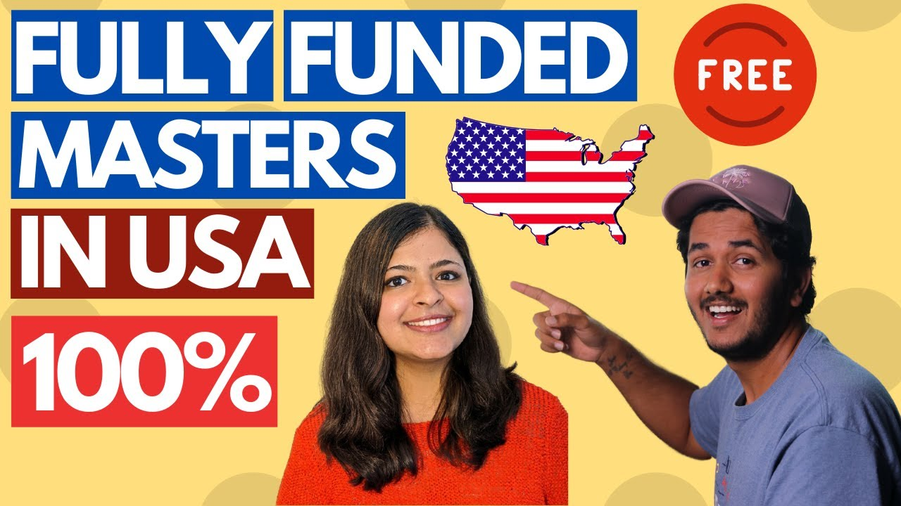 How To Get Full (100%) Masters in USA for Free! 100% ...