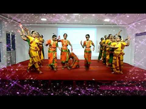 Aigiri Nandini Group Dance Performance   Open Minds a Birla School Kankarbagh