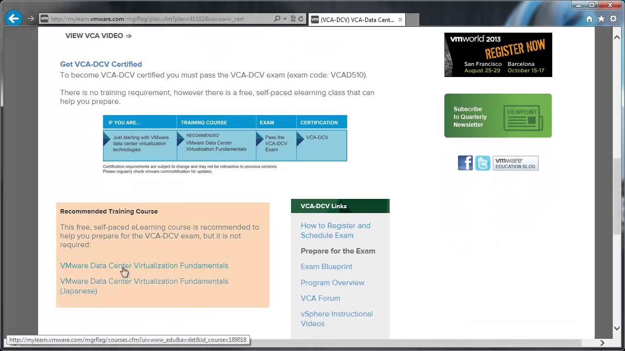 The New Vmware Certified Associate Vca Exams Youtube