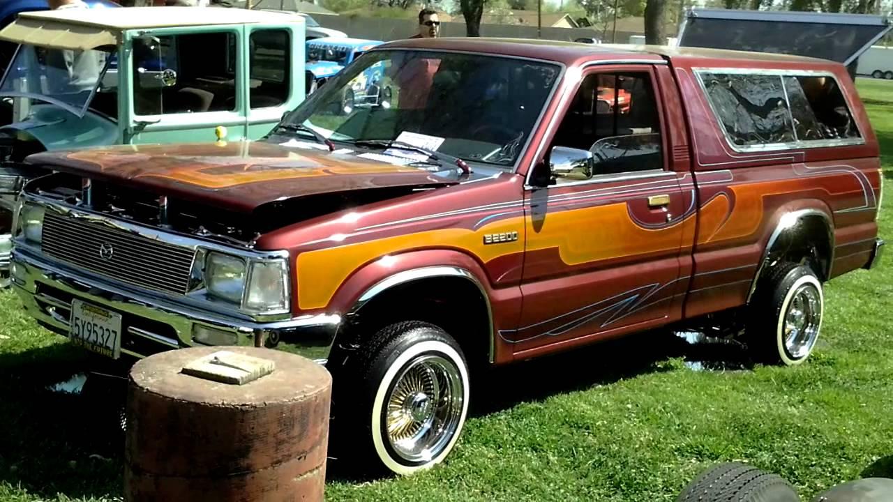 Dodge Wilson Nc >> Mazda lowrider truck must watch - YouTube