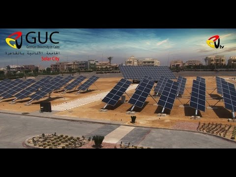 Solar City @ German University in Cairo