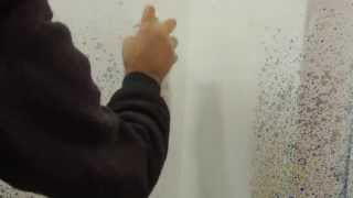 Como cubrir o tapar manchas en paredes con Pintura Antimanchas o Pintura Quitamanchas en spray FM