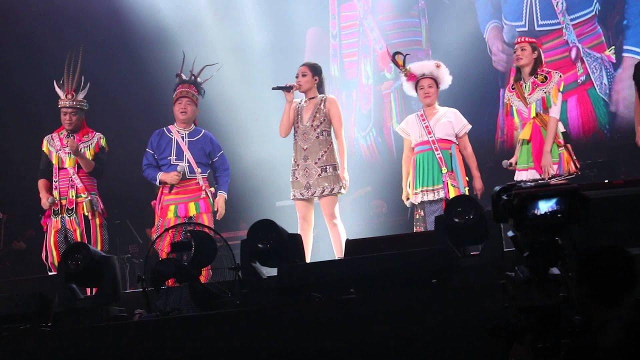 一想到你呀@A-Lin『聲吶』世界巡迴演唱會香港站」12-3-2016 - YouTube