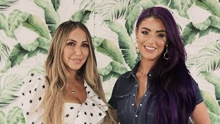 WWE's Natalie Eva Marie Interview | Workouts, Hairstyles, Fashion & More!